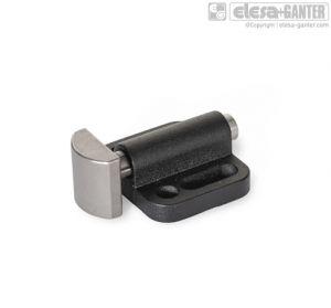 GN 415-A2 Side thrust pins cylinder, vertical