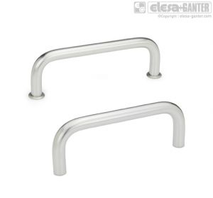 GN 425-NI Cabinet U handles, stainless steel