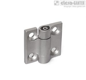 GN 437-A4 Hinges stainless steel