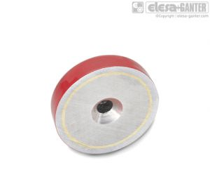 GN 58-ZB Pot magnets zinc plated