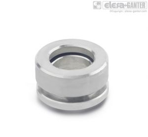 GN 6319.1-NI Spherical washers, stainless steel