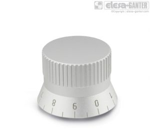 GN 723.4 Knurled Control knobs