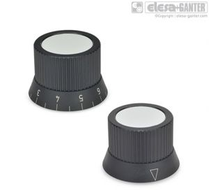 GN 726.2 Knurled Control knobs