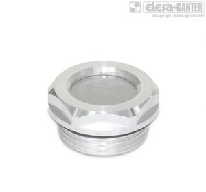GN 7403-AL Breather strainers aluminium