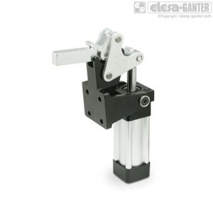 GN 863 Heavy duty pneumatic toggle clamps