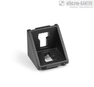 GN 960 Angled pieces for profile systems 30 / 40 / 45