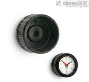 IZN-XX Knurled grip knobs for position indicators