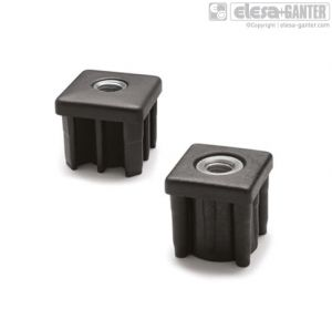 NDX.Q Square end-caps for tubes