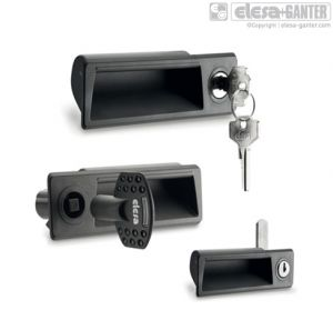 PR-CH Flush pull handles with lever latch