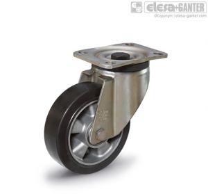 RE.G2-SSL-H Castors with bracket for medium-heavy loads turning plate bracket, without brake