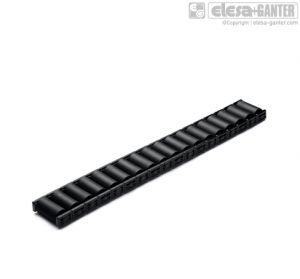 RLT-U15-PA Roller elements for ELEROLL roller tracks technopolymer rollers